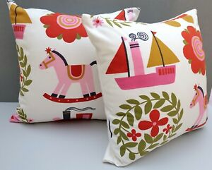 Vintage Childs Cushion Cover 'Jackanapes' 1966 by Juliet Glyn-Smith for Conran