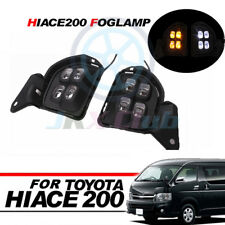 LED Driving Fog Light DRL Daytime Running Lamp 2pcs For Toyota Hiace 200 2014-on
