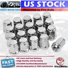 20 Tuercas rueda del cromo bulto bellota 12x1.5 para Chrylser Dodge Ford Acura Lexus