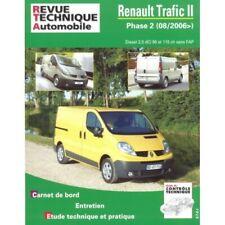 Trafic II 06- Revue Technique Renault Etat - NEUVE PORT 0 Euro France