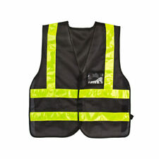 Sunlite Reflective Delivery Vest One-Size Black/Reflective Yellow