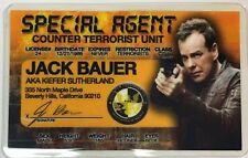Jack Bauer - Kiefer Sutherland - 24 - Special Agent License Novelty