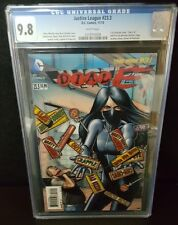 JUSTICE LEAGUE 23.3 9.8 CGC KEY DIALE H SEVERAL FIRST APPEARANCES