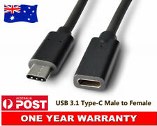 Type-C Male to USB-C Female Extension Cable For samsung Galaxy Z Flip Lead Cord