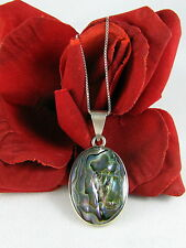 Sterling Silver & Abalone 17g Necklace Feral Cat Rescue