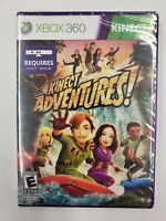 Kinect Adventures Microsoft Xbox 360 Video Game New Sealed