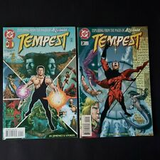 Dc Comics Tempest Issues 1 and 2