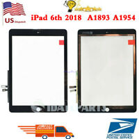 US Touch Screen Digitizer Replacement for iPad 6 6th GEN 2018 A1893 A1954 Black