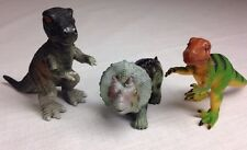 "3 Dinosaurs 2"" Toy Major (2005-2007) Pvc Dinosaur Toy"