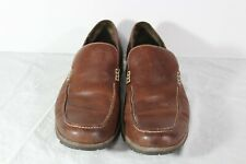 Cole Haan Brown Air Size 8M Men's Leather Driving Moccasin Venetian Loafers