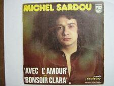 MICHEL SARDOU 45 TOURS FRANCE BONSOIR CLARA