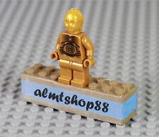 LEGO Star Wars - C-3PO Pearl Gold Protocol Minifigure 10188 8129 10198 10144