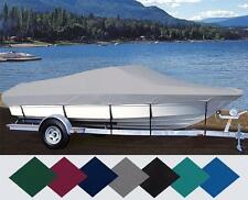 CUSTOM FIT BOAT COVER STRATOS 219 FISH &SKI SIDE CONSOLE PTM O/B 1993-1996