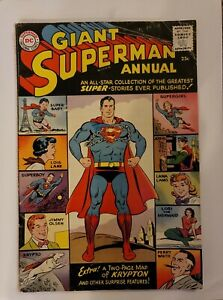 Giant Superman Annual 1960 DC Comics. An All-Star Collection of Super Sories