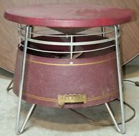 VINTAGE SEARS KENMORE 360° HASSOCK FLOOR FAN, 3-SPEED, Works Pre-owned.