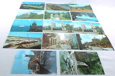 Vintage Caribbean Postcards Lot of 14 1960s