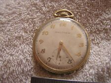 Vintage Waltham Colonial 21 Jewels Pocket Watch