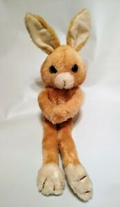 "Vintage Bunny Rabbit Russ Berrie Skinny Plush Named Freddie 16"" Stuffed Toy #525"
