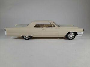 Vtg 1965 Cadillac DeVille Promo Plastic Car