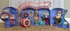 Littlest Pet Shop Hasbro LPS  PET LOVIN' PLAYHOUSE w/BONUS PETS # 45 Hamster