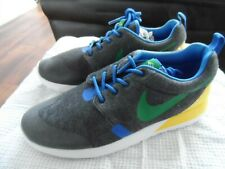 NEW Nike Rosherun Roshe BRAZIL QS GS One World Cup 2 Tech F size UK 4.5, EU 37.5