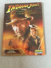 More details for merlin stickers collection album indiana jones and the crystal skull