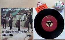 The Rolling Stones Let's Spend the Night Together * Ruby tuesdy * DL 25 280