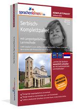 SERBISCH lernen von A bis Z - Sprachkurs-Komplett-DVD plus Smartphone-Version