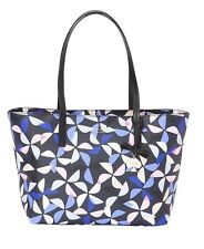 NWT Kate Spade Ryan Hawthorne Lane Spinner Tote handbag Rich Navy Multi