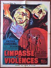 Affiche L'IMPASSE AUX VIOLENCES the Flesh and the fiends PETER CUSHING 60x80cm