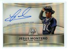 Jesus Montero 2010 Bowman Platinum Prospect Refractor AUTO #BPA-JM RC Rookie