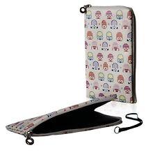 Reissverschluss Handy Tasche Etui Hülle Case Motiv Eulen für Sony Xperia XZ2