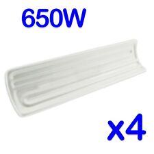 4 x 650w ceramica porcellana a infrarossi Elemento Riscaldante/Riscaldamento a Portale Lampada 230V