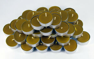Beeswax Tealights 100% pure beeswax, from Beekeeper