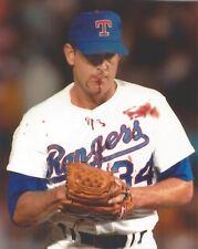 NOLAN RYAN 8X10 PHOTO TEXAS RANGERS PICTURE MLB BASEBALL BLOODY