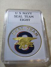 US NAVY SEAL TEAM EIGHT Challenge Coin