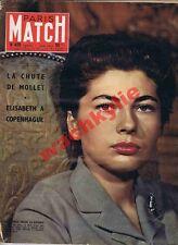 Paris Match n°425 du 01/06/1957 Soraya Dickens Danemark Terre Adélie