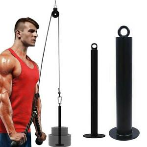 Fitness Loading Pin Pulley Cable System Attachment Dumbbell Racks Apparatus