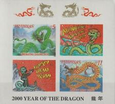 Philippines 1999 Souvenir Sheet #2651b Year of the Dragon - MNH