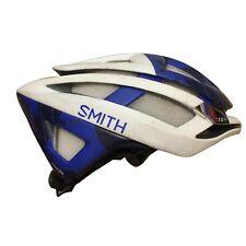 Unisex 2018 SMITH UHC Pro Cycling Overtake MIPS Road Helmet, Blue/White Sz L EUC