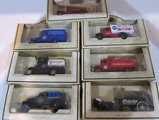 LOT 7 Chevron Commemorative Model Die-Cast Cars Delivery Firetruck Standard Oil