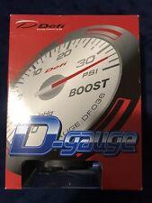 """Defi D-Gaige Fuel Press Black dial 2 1/16"""" DF03804"""