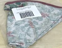 Longaberger American Holly Liner for Traditions Basket