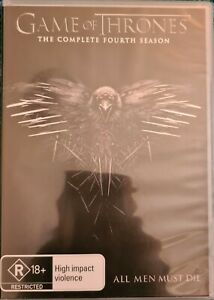 Game Of Thrones : Season Series 4 DVD  2015, 5-Disc Set R4 New