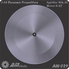Alliance Model Works 1:48 Prop Blur Dynamic Propellers Spitfire Mk.II #AW029