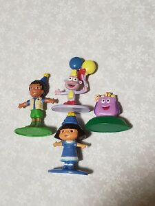 Candy Land Dora Game Complete Replacement set of figures tokens people movers