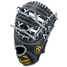 "Pro Teen Buckler Baseball, Tl125Fbbg 12.5"" Fb Rht First Base Glove Black/Grey"