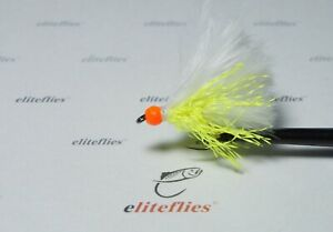 eliteflies 6 x Barbless mini Cats whisker lure  fly fishing flies trout lake
