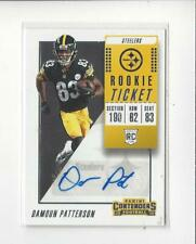2018 Contenders #198 Damoun Patterson RC Rookie AUTOGRAPH Steelers