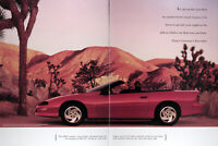 1994 CHEVROLET CAMARO CONVERTIBLE Genuine Vintage Ad ~ MSRP $19,235 ~ FREE SHIP!